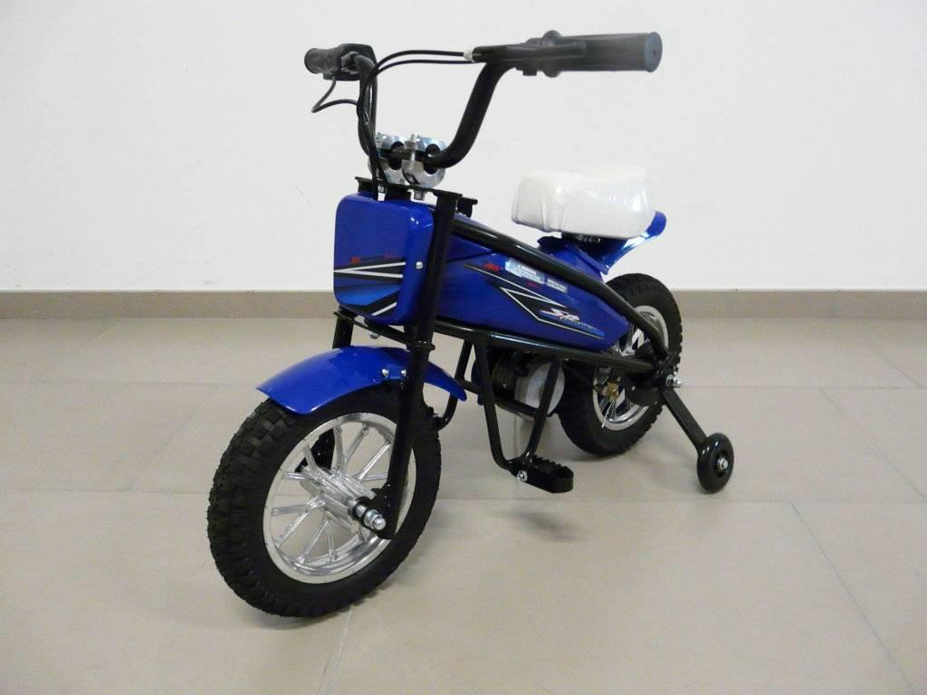 Moto electrica infantil Pekecars 24V 200W Azul
