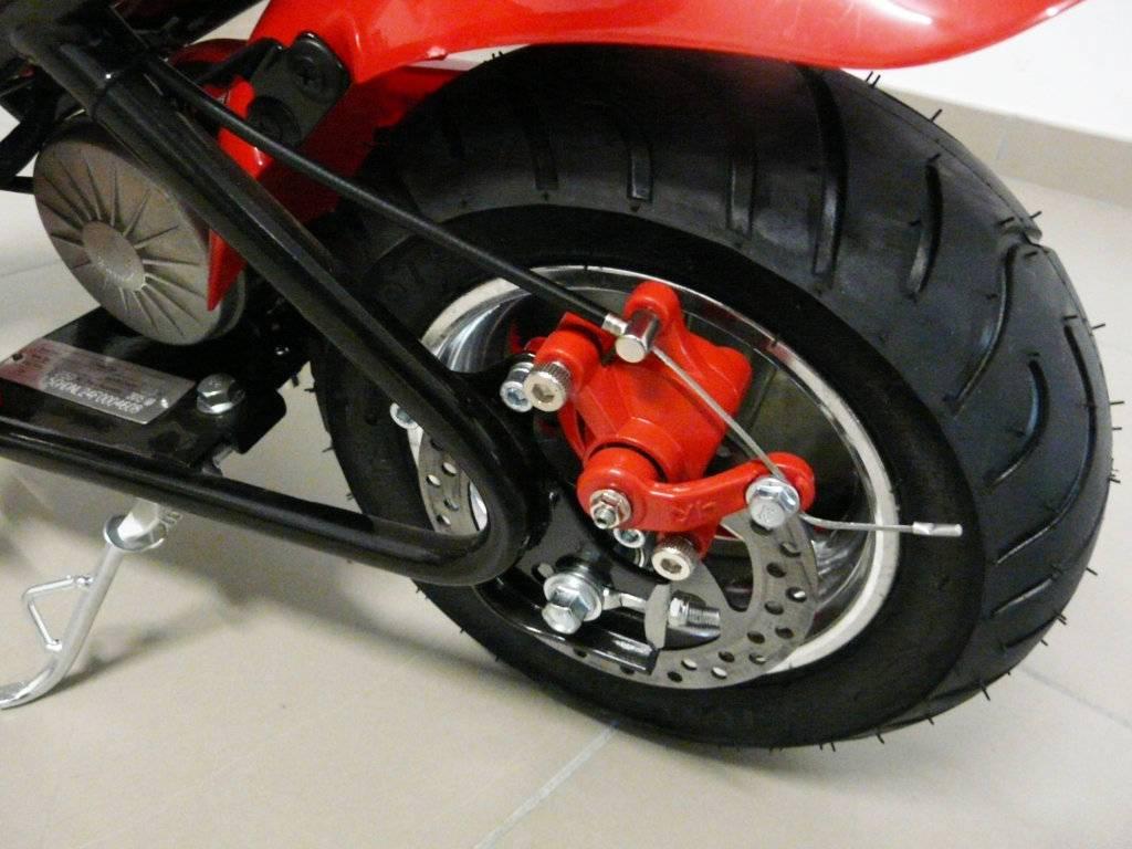 Moto electrica para niños Pekecars 24V 250W Roja