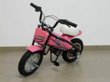 Moto electrica infantil Pekecars 24V 200W Rosa vista principal