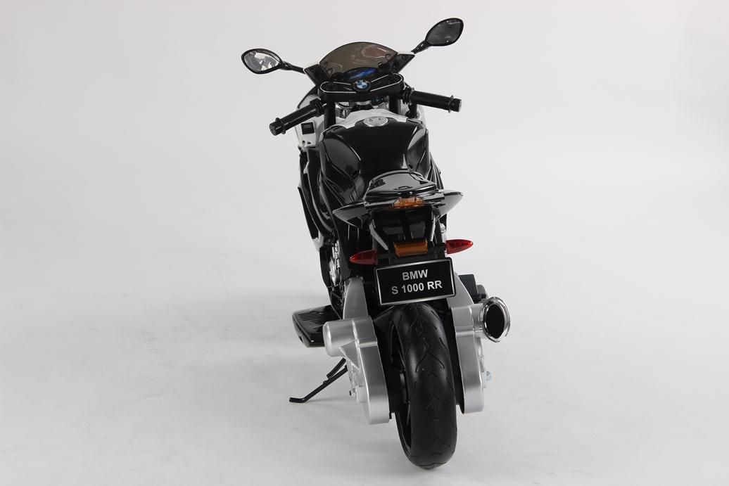 MOTO BMW 12V NEGRA TRASERA width=