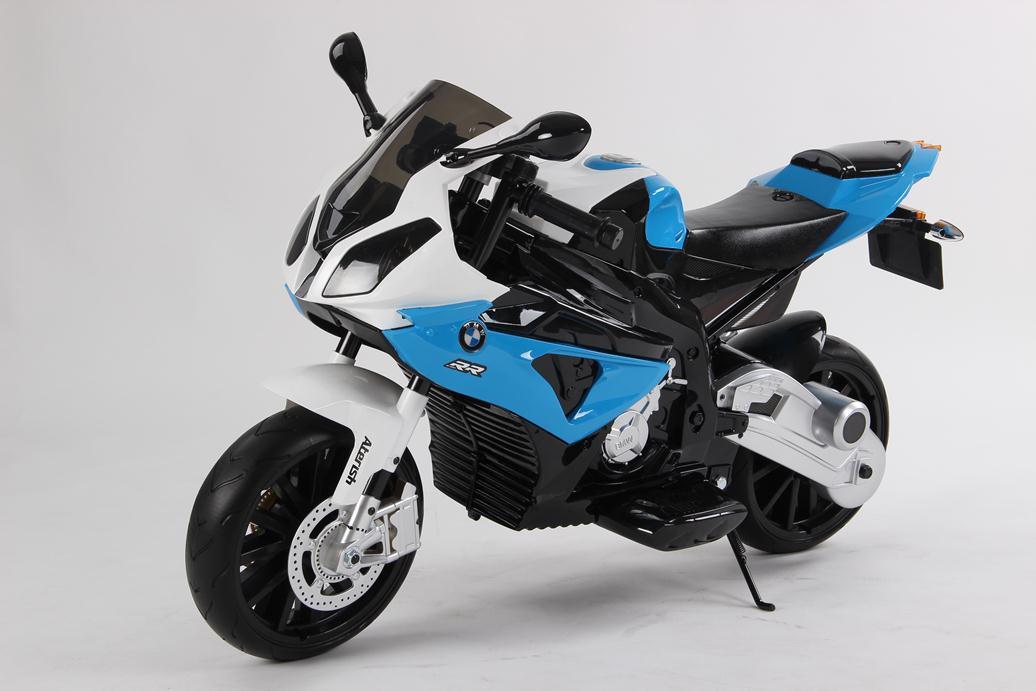 Moto electrica para niños BMW S1000RR Azul