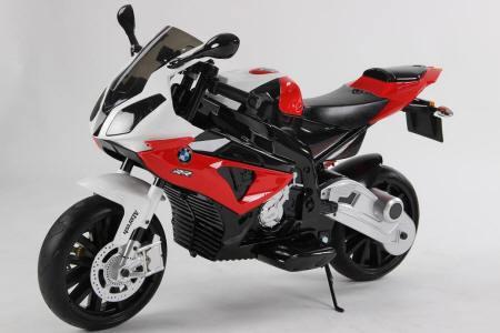 Moto electrica para niños BMW S1000RR Roja vista principal