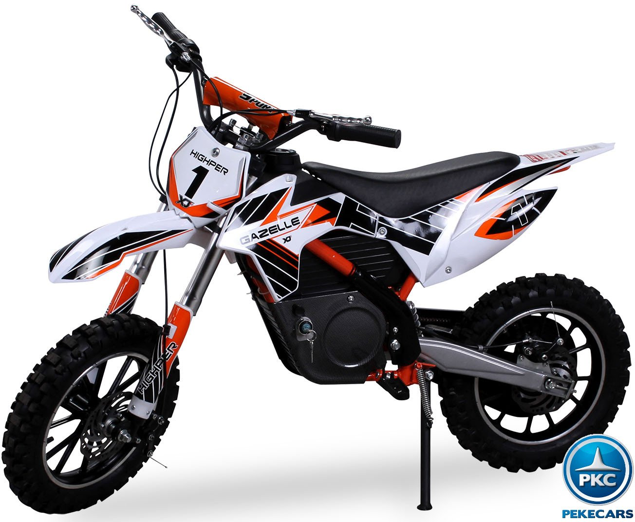 moto mini crossbike gazelle 500w naranja pekecars. Black Bedroom Furniture Sets. Home Design Ideas
