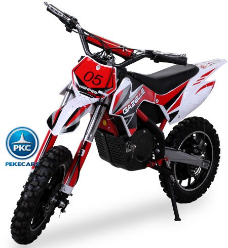 Moto Mini Crossbike Gazelle 500W Roja