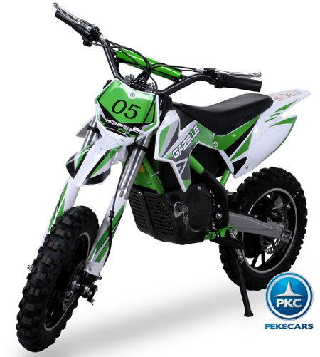 Moto Mini Crossbike Gazelle 500W Verde
