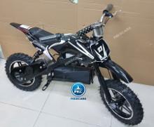 Moto electrica para niños Dirk 36V 800W Negro vista principal