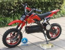 Moto electrica para niños Dirk 36V 800W Roja vista principal