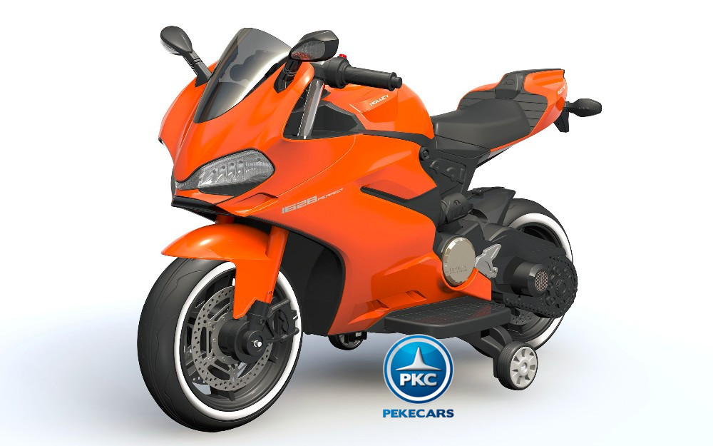 Moto Ducati Superbike 1299 Panigale Style 12V Orange