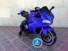 Moto electrica para niños Ducati Panigale Style Azul vista principal
