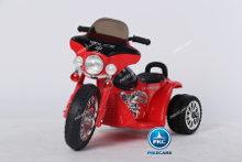 Trimoto electrica para niños de policia 6V Roja vista principal