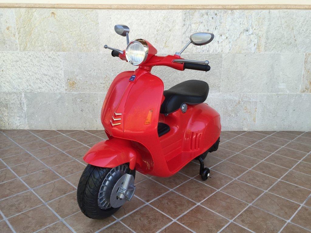 Vespa style 12V Roja vista principal