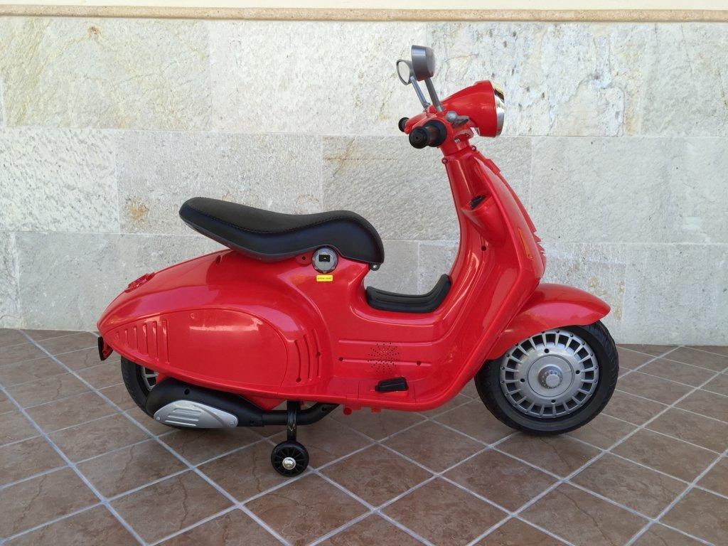 Vespa style 12V Roja