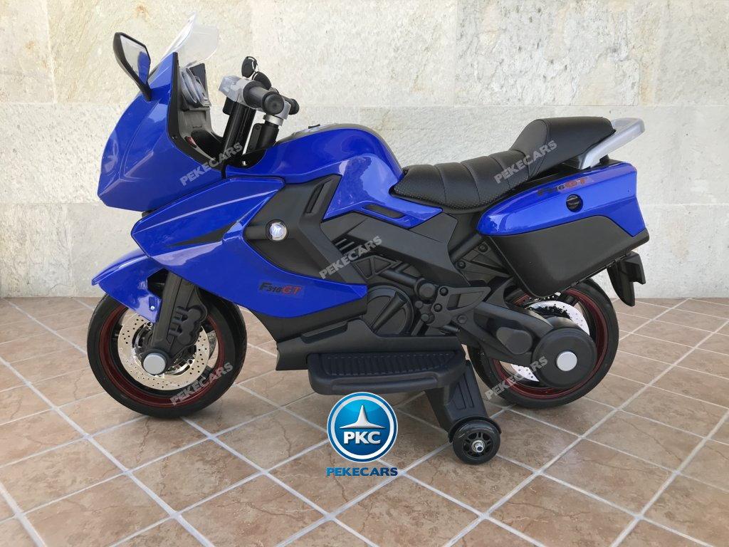 Moto electrica para niños BMW Style C 650 GT 12V Azul