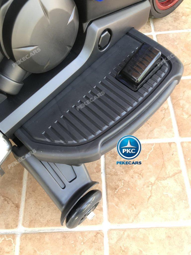 Moto electrica para niños BMW Style C 650 GT 12V Azul pedal acelerador