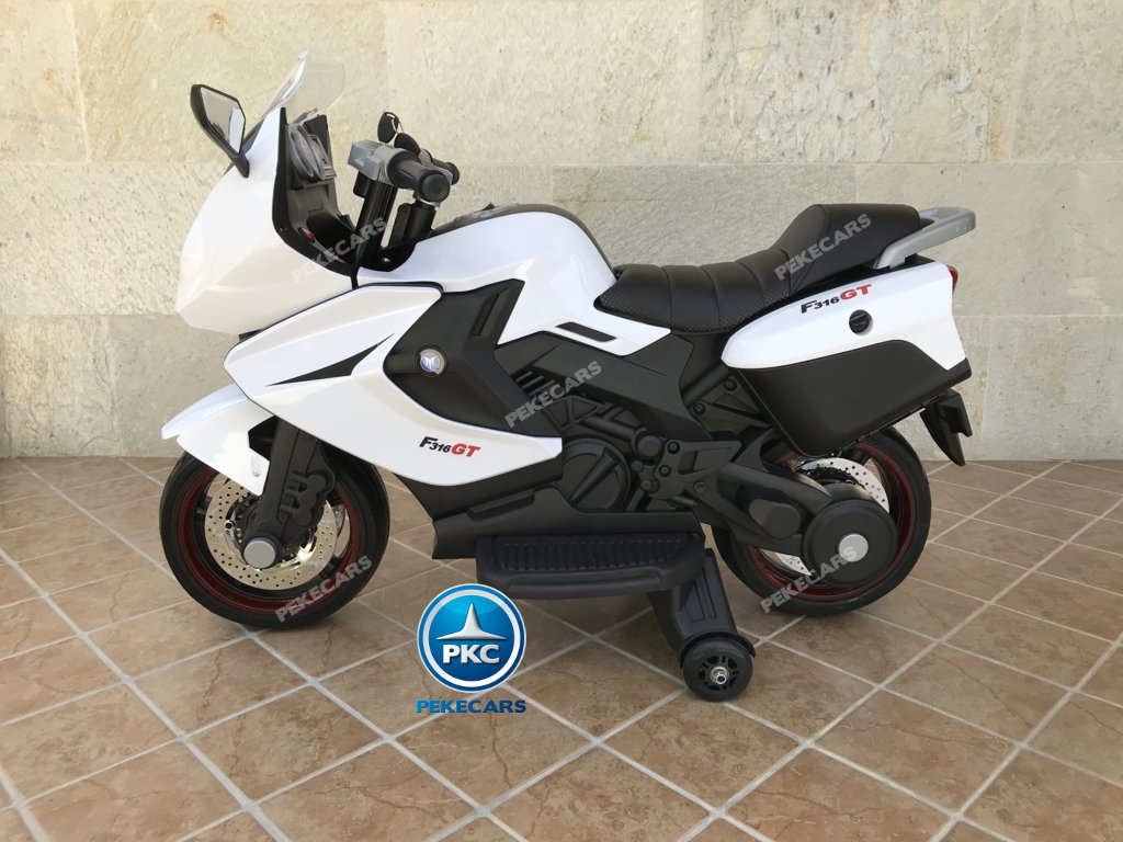 Moto electrica para niños BMW Style C 650 GT 12V Blanca