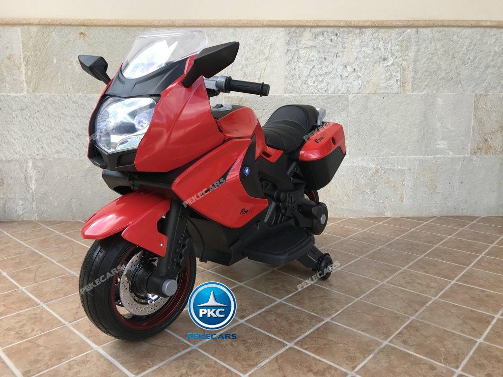 Moto electrica para niños BMW Style C 650 GT 12V Rojo vista principal