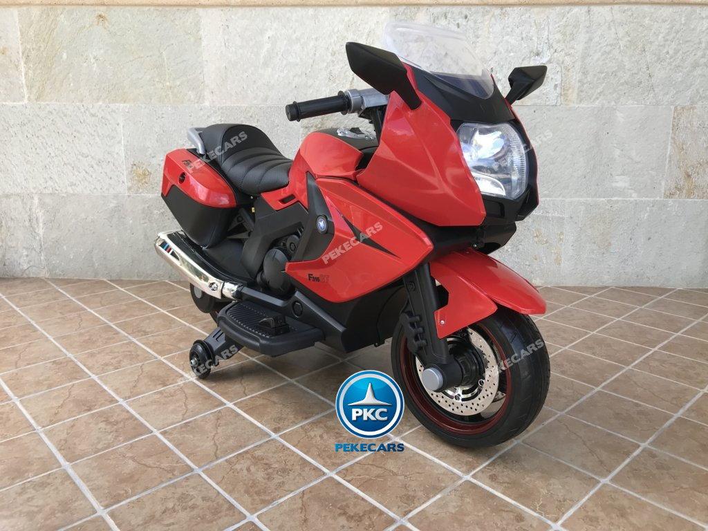 Moto electrica para niños BMW Style C 650 GT 12V Rojo