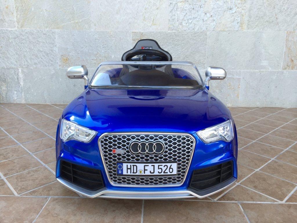 Audi Rs5 azul frontal