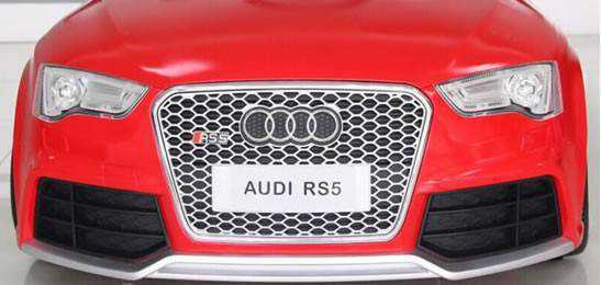frontal audi rs5 rojo