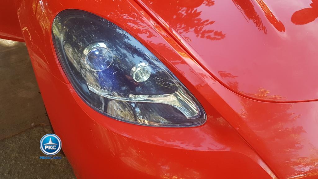 Deportivo Pekecars XL 24V Rojo - faro
