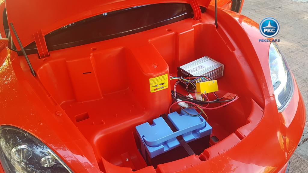 Deportivo Pekecars XL 24V Rojo - baterias