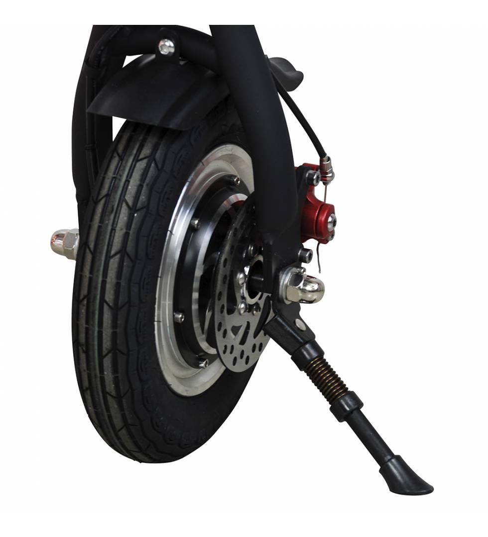 Patinete eléctrico E-bike S1400W Brushless Negro rueda trasera