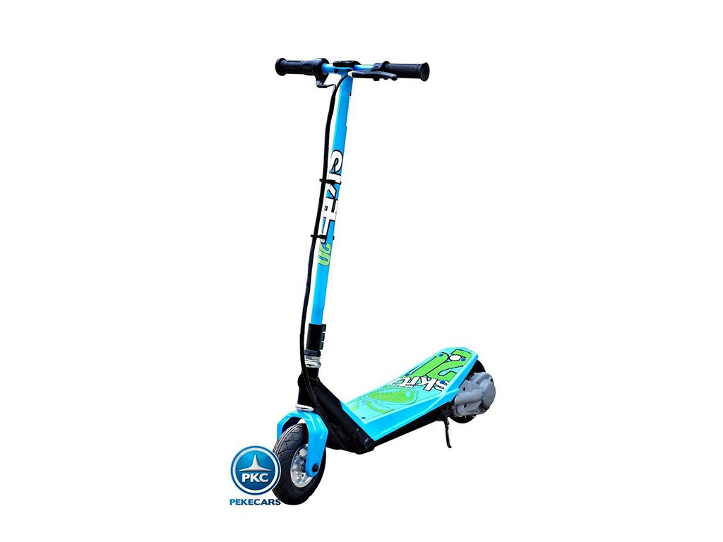 Electric scooter21.0 goskitz azul patinete electrico para niños