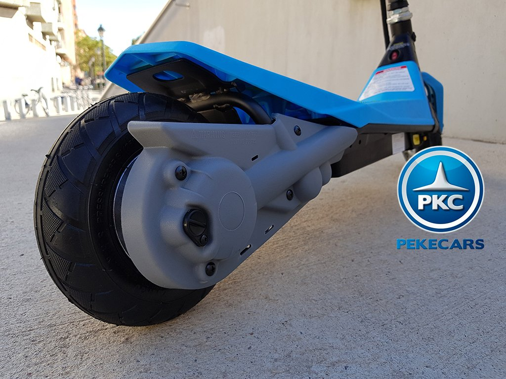 Electric scooter 2.0 goskitz azul patinete electrico para niños