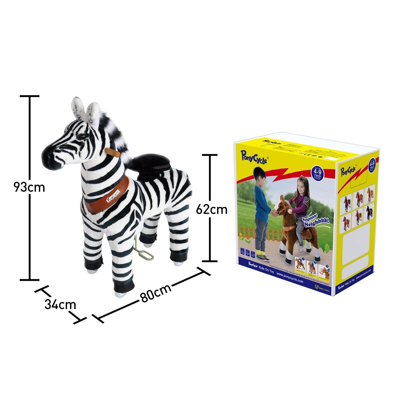 Ponycycle Cebra Lusy Mediano