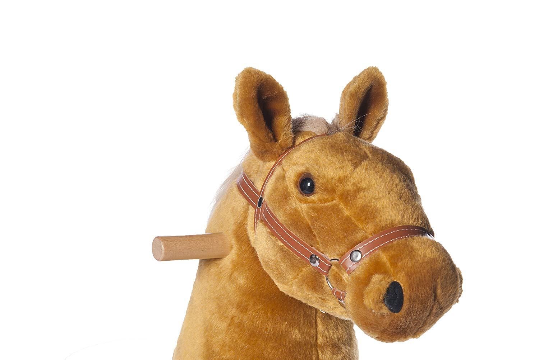 Ponycycle Caballo Champán Mediano con Sonidos