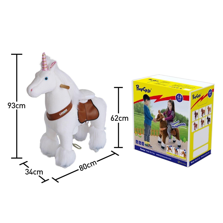 Ponycycle Unicornio Charlie Mediano con Sonidos