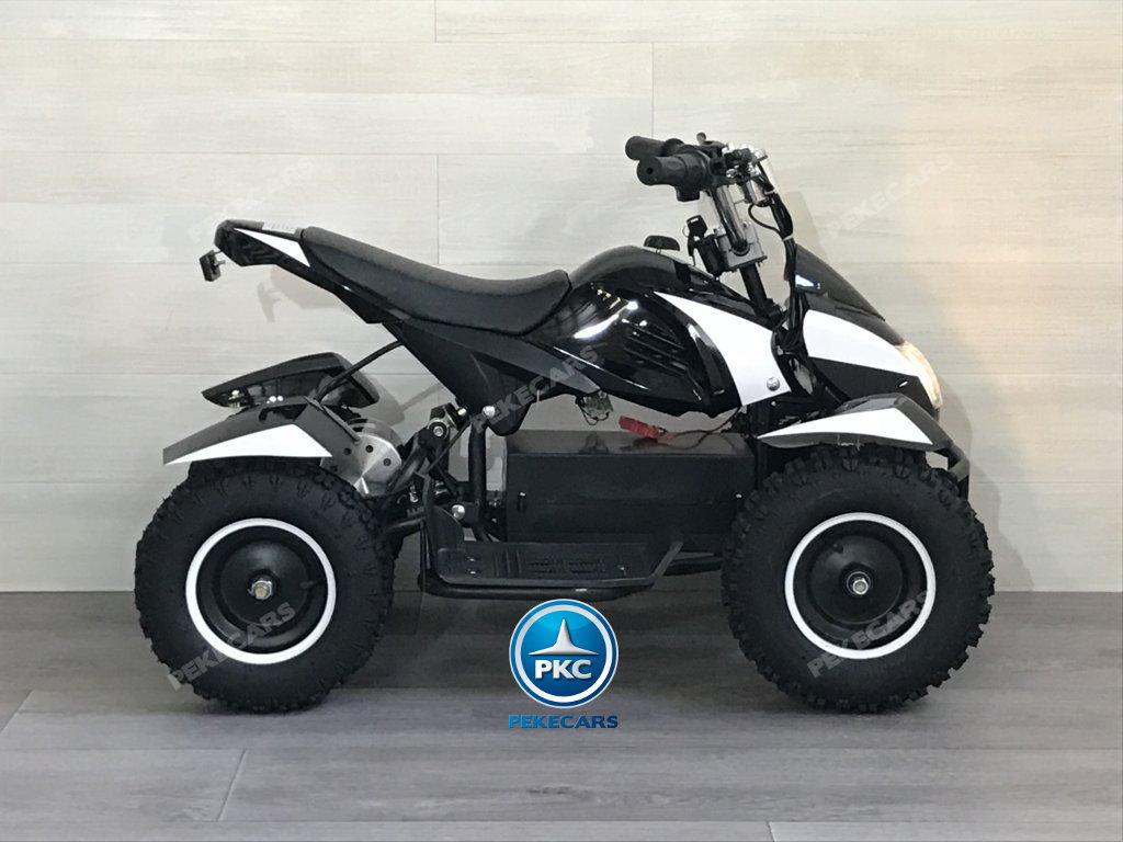 Quad Cobra 36V 800W Blanco lateral