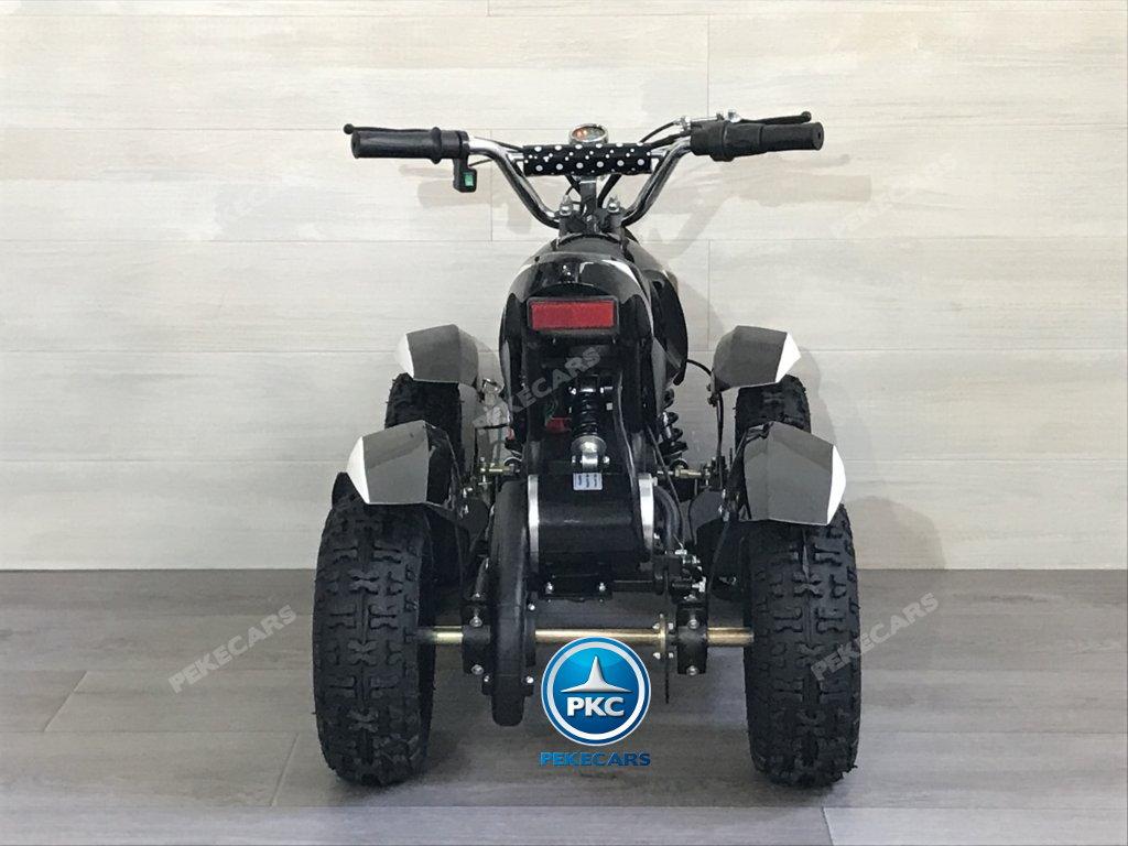 Quad Cobra 36V 800W Blanco vista trasera