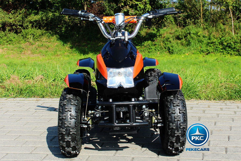 Quad Cobra 36V 800W Naranja frontal