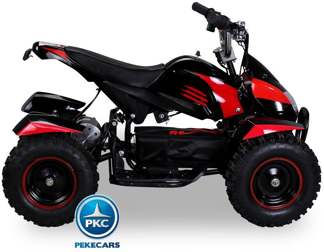 Quad Cobra 36V 800W Rojo lateral