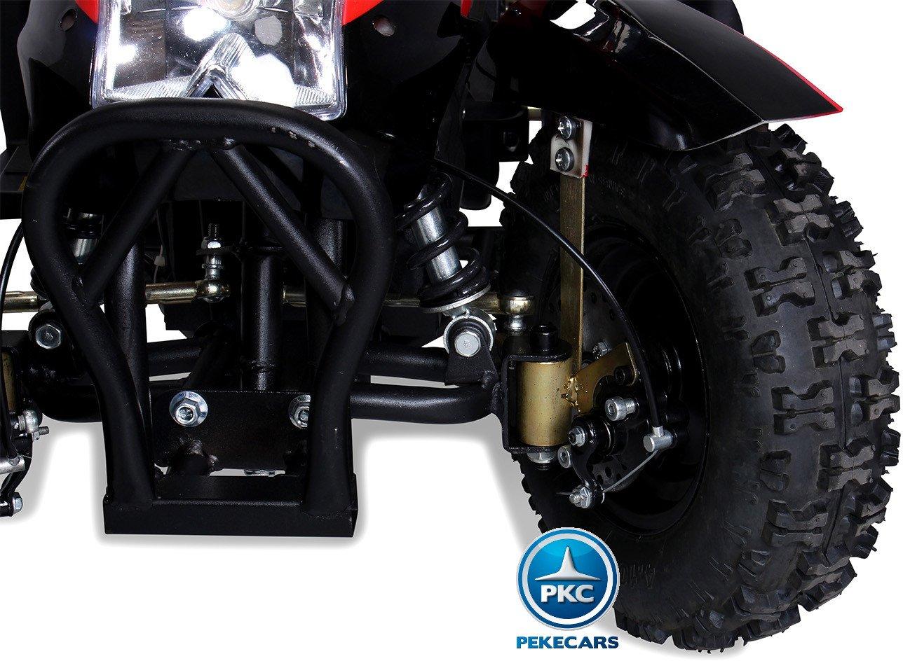Quad Cobra 36V 800W Rojo ruedas neumaticas