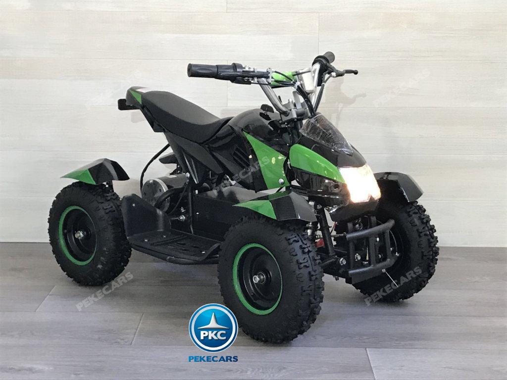 Quad Cobra 36V 800W Verde vista principal