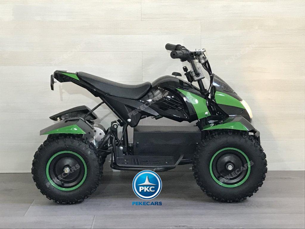 Quad Cobra 36V 800W Verde de lado