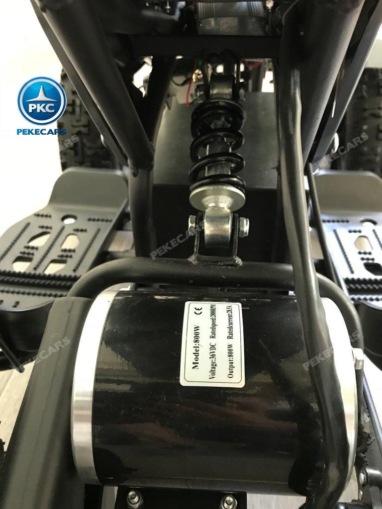 Quad Cobra 36V 800W Verde motor