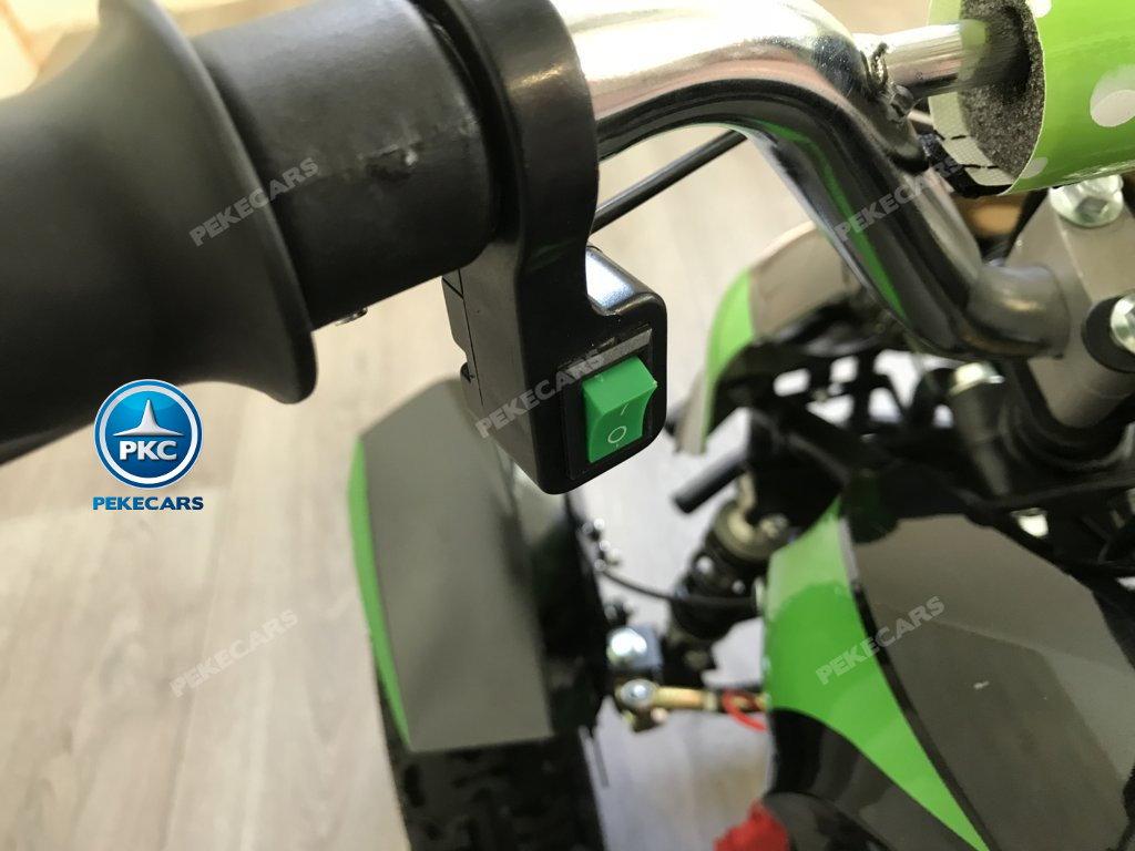 Quad Cobra 36V 800W Verde
