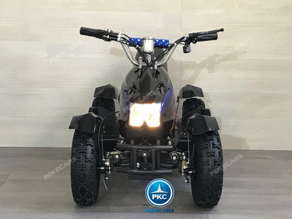 Quad Cobra 36V 800W Azul vista frontal