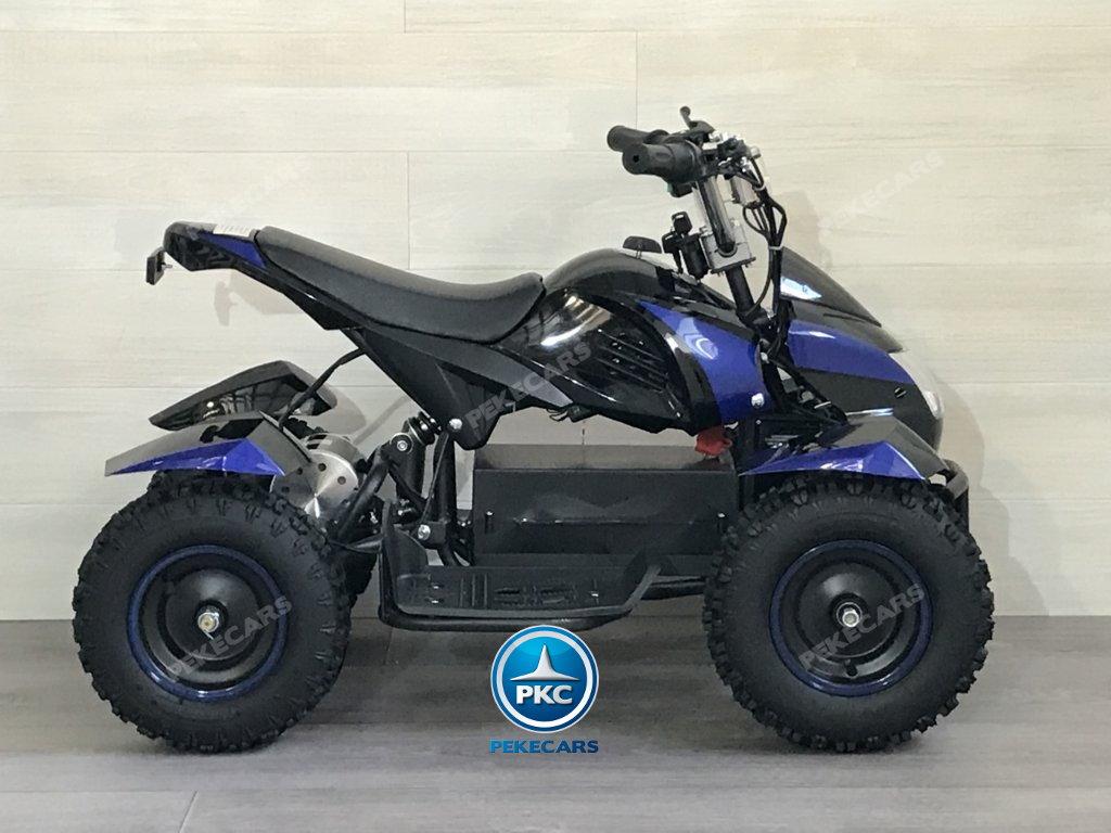 Quad Cobra 36V 800W Azul lateral
