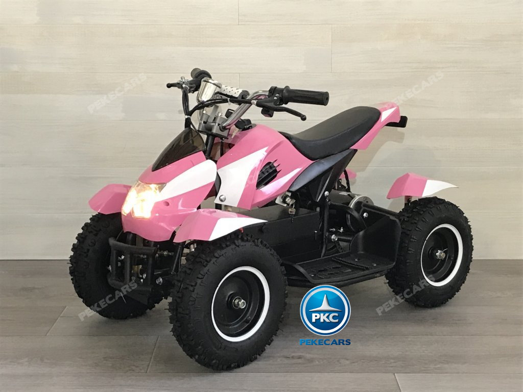 Quad Cobra 36V 800W Rosa vista principal