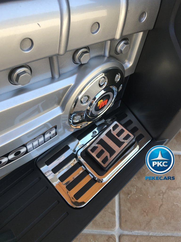 Quad Eléctrico Infantil Giga Quad 12V Blanco pedal acelerador