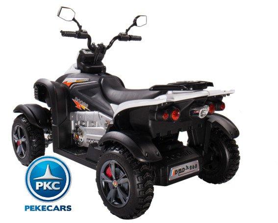 Quad Eléctrico Infantil Giga Quad 12V Rojo con ruedas de caucho