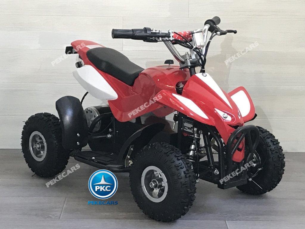 Quad eléctrico para niños mini atv 36V rojo y blanco