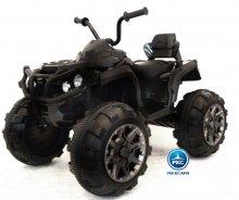 Quad Eléctrico Infantil Pekecars 906D Negro