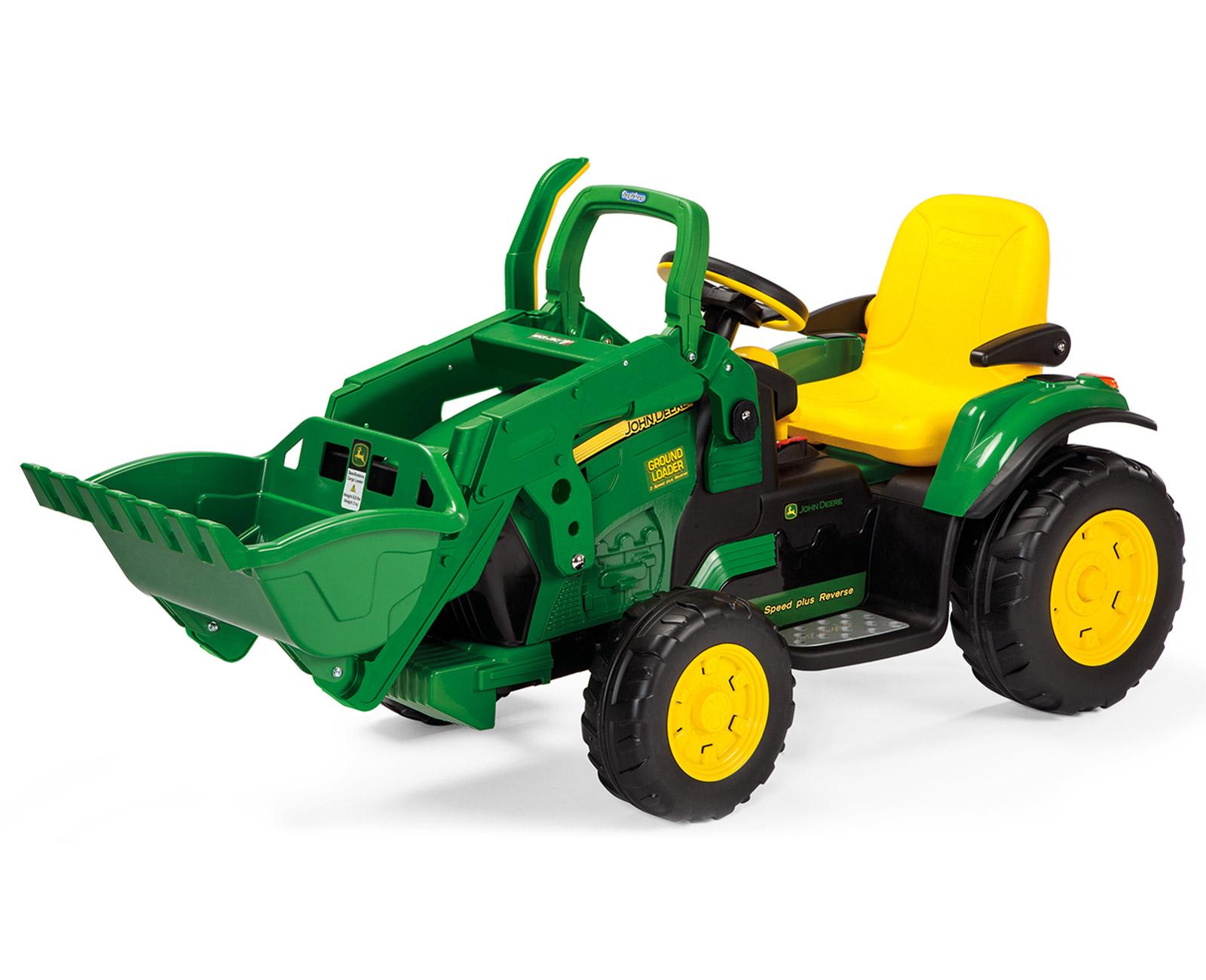 Tractor Eléctrico Infantil John Deere Ground Loader