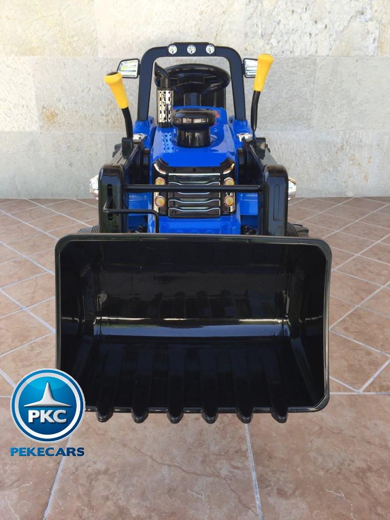 Tractor Eléctrico Infantil New Holland Azul