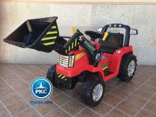 Tractor Eléctrico Infantil Case III Style Rojo vista principal